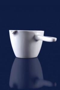 ظرف تبخیر دسته دار سرامیکی (کپسول)